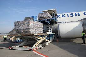 Turkish airlines cargo handling in Conakry airport